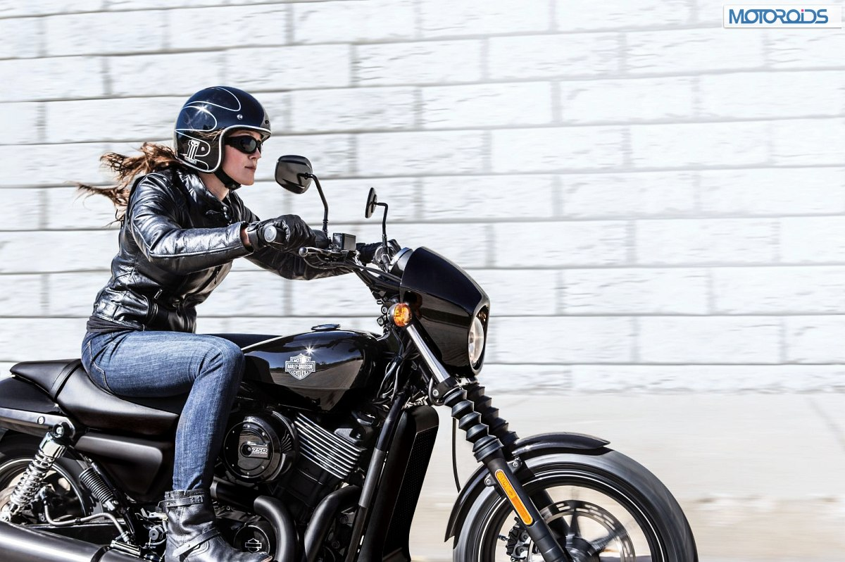 Harley Davidson Street on New Engine Water Cooled Harley