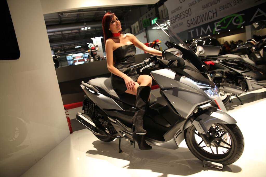 Honda Forza on Ridin'Girls Blog