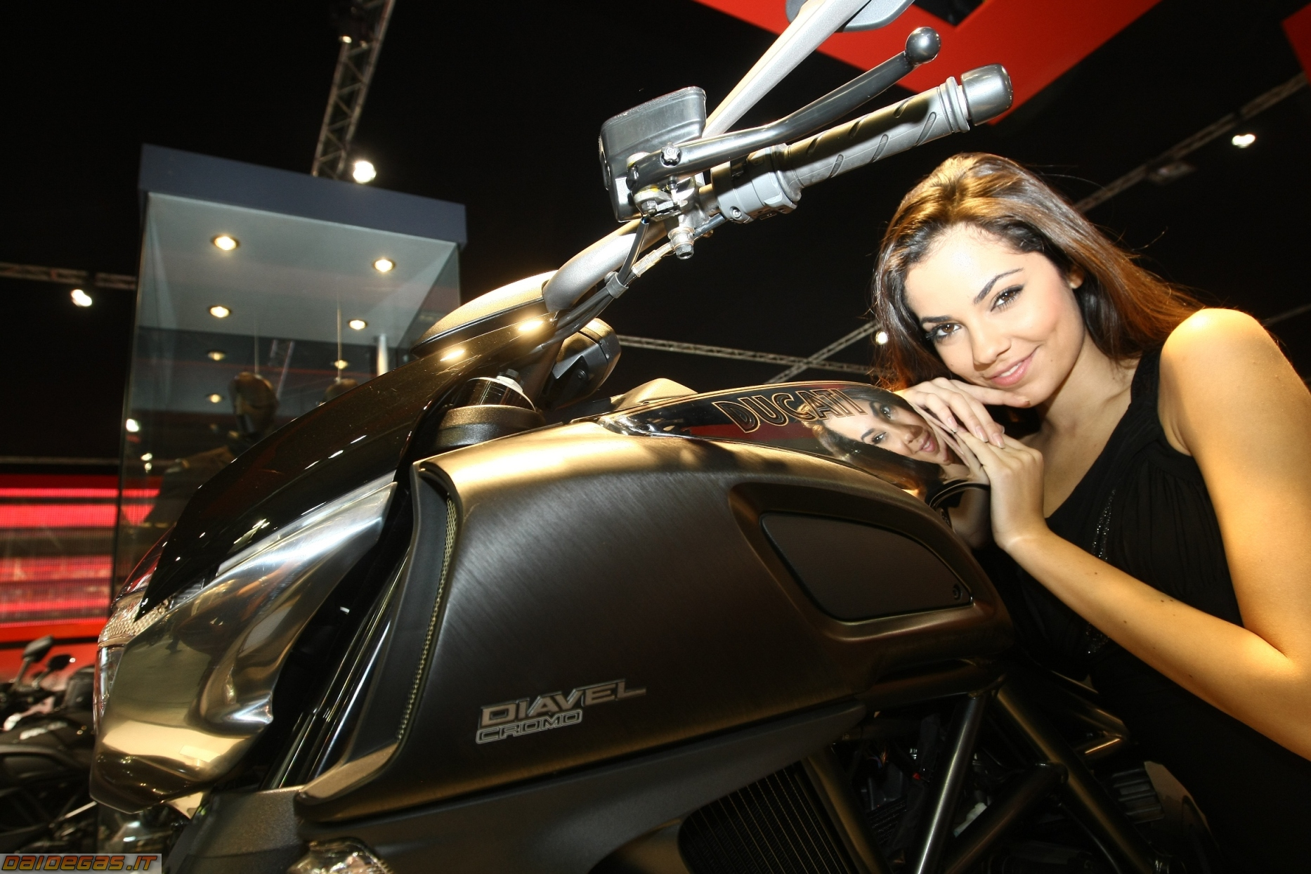 Ducati Diavel on RidinGirlsBlog