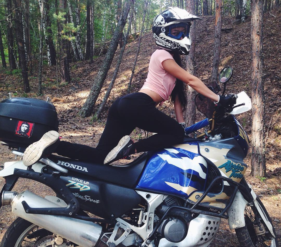 Honda Africa Twin on Ridin'Girls Blog